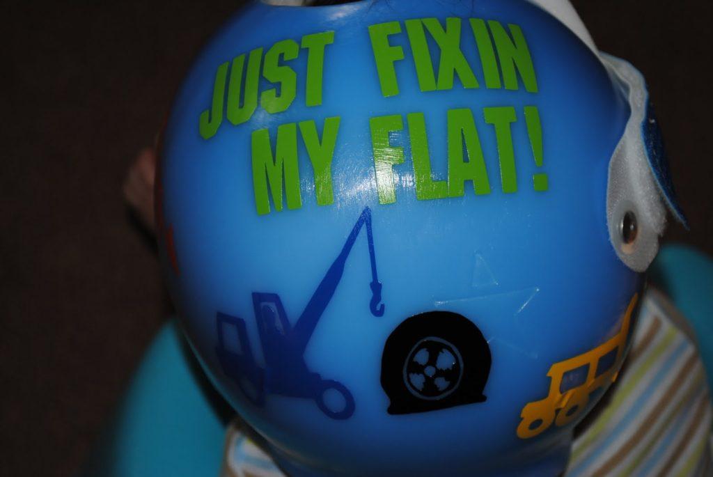 Torticollis The Baby In The Little Blue Helmet A Nation Of Moms - Baby helmet decals