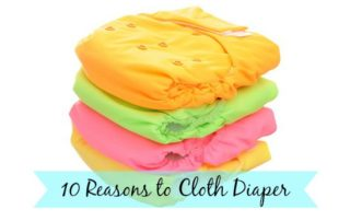 10 Reasons to Cloth Diaper