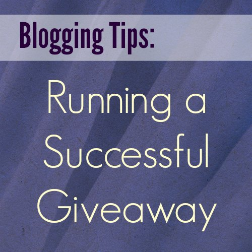 Blogging Tips Giveaway