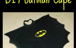 DIY Batman Cape