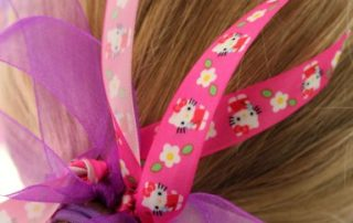 DIY Ribbon Hair Bands