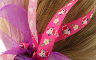 DIY Ribbon Hair Bands