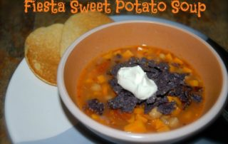 Fiesta Sweet Potato Soup