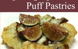 Fig & Gorgonzola Puff Pastries