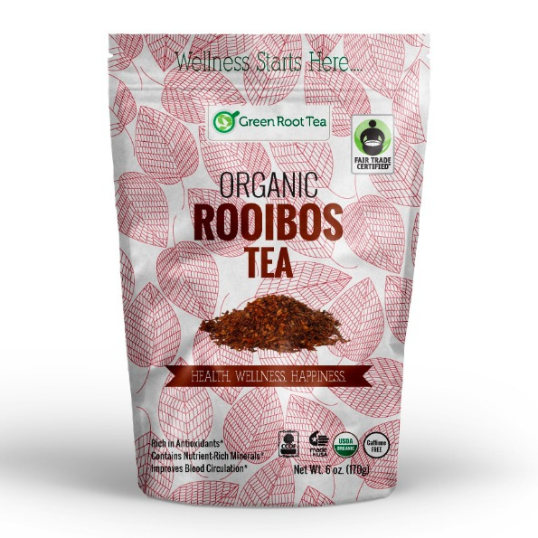 Green Root Tea Organic Red Rooibos