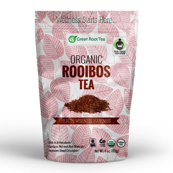Green Root Tea Organic Red Rooibos