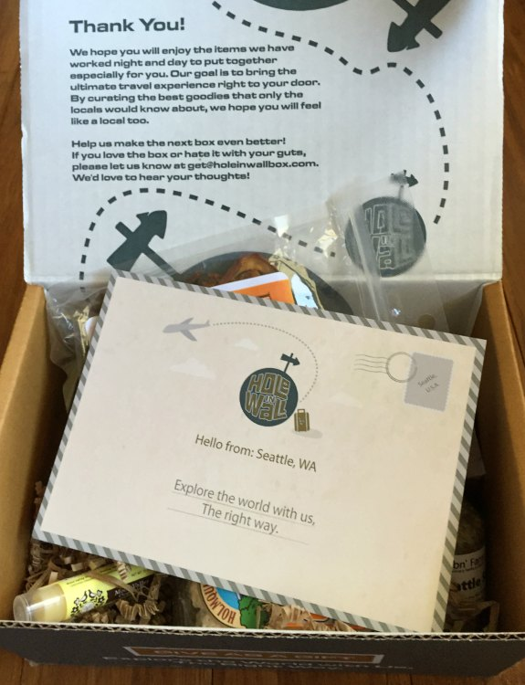 Hole in the Wall Subscription Box