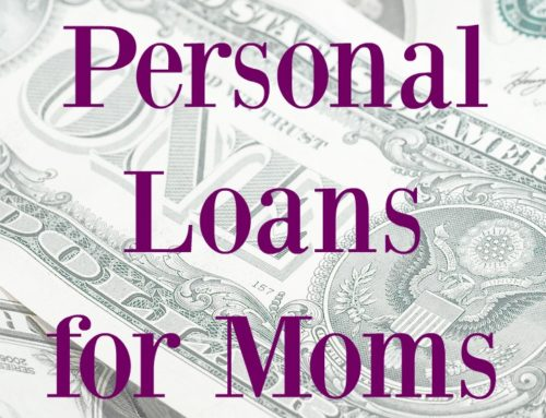 Personal Loans for Moms