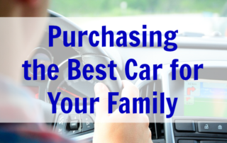 Purchasing the Best Car for your Family