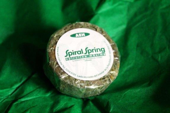 Spiral Spring Spirulina