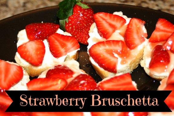Strawberry Bruschetta