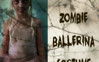 DIY Zombie Ballerina Costume