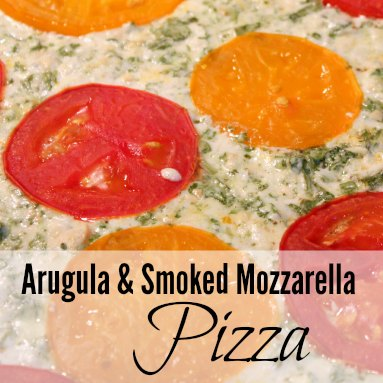 Arugula & Smoked Mozzarella Pizza