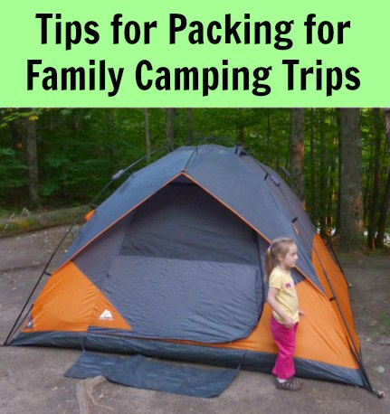 Packing for Camping Trips