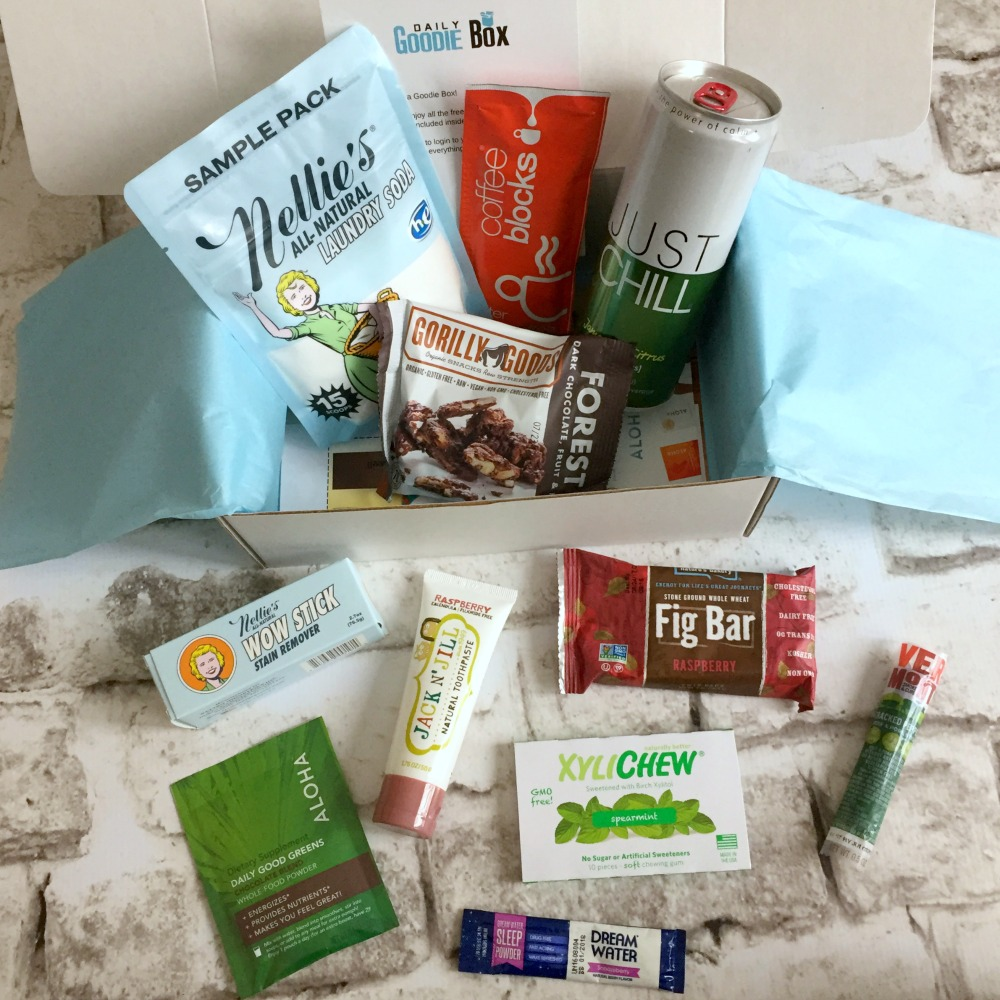 Daily Goodie Box Samples