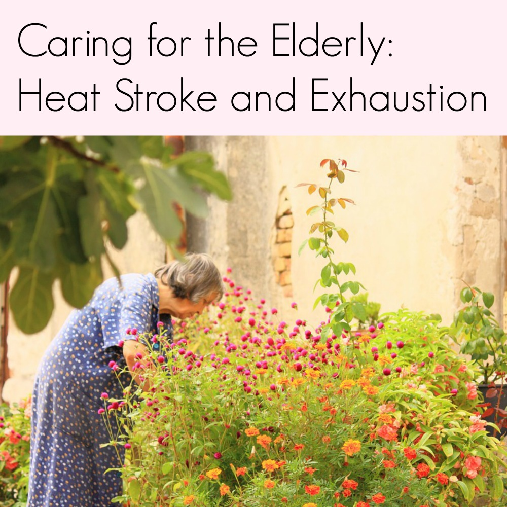 Caring for the Elderly: Heat Stroke and Exhaustion