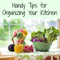 Handy Tips for Organizing Your Kitchen