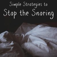 Stop the Snoring