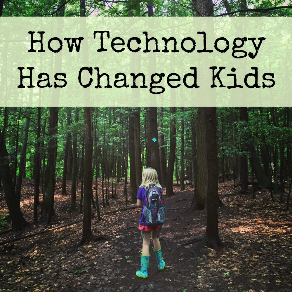 How technology has changed kids