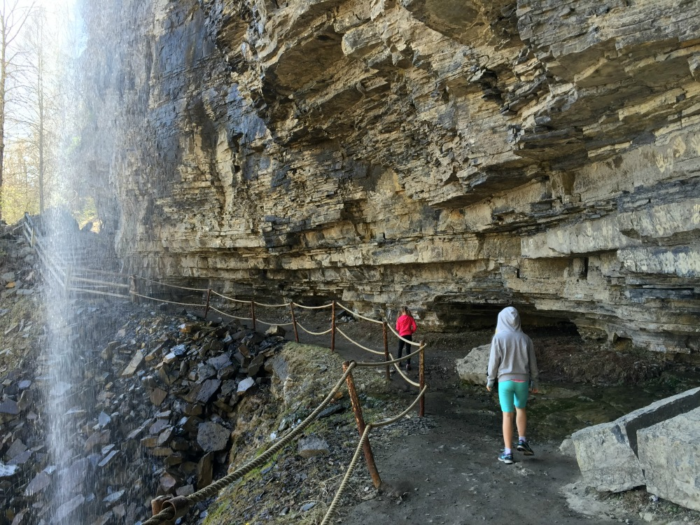 Thacher Park Indian Ladder Trail