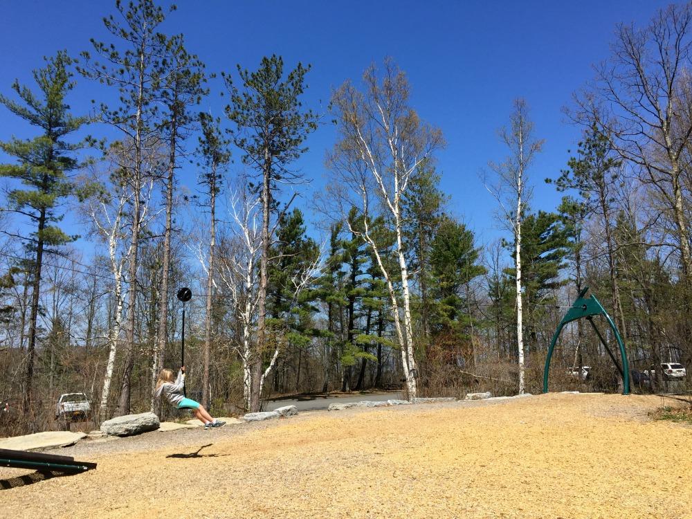 Thacher Park Zipline