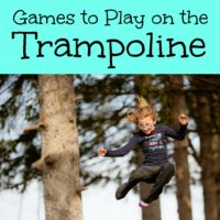 Games to Play on the Trampoline