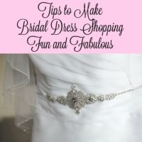 Tips to Make Bridal Dress Shopping Fun and Fabulous