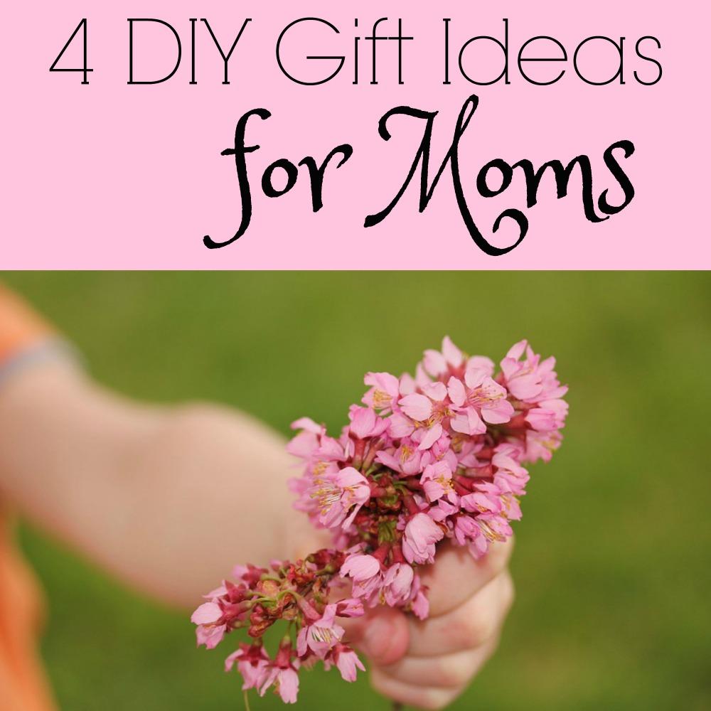 DIY gift ideas for moms