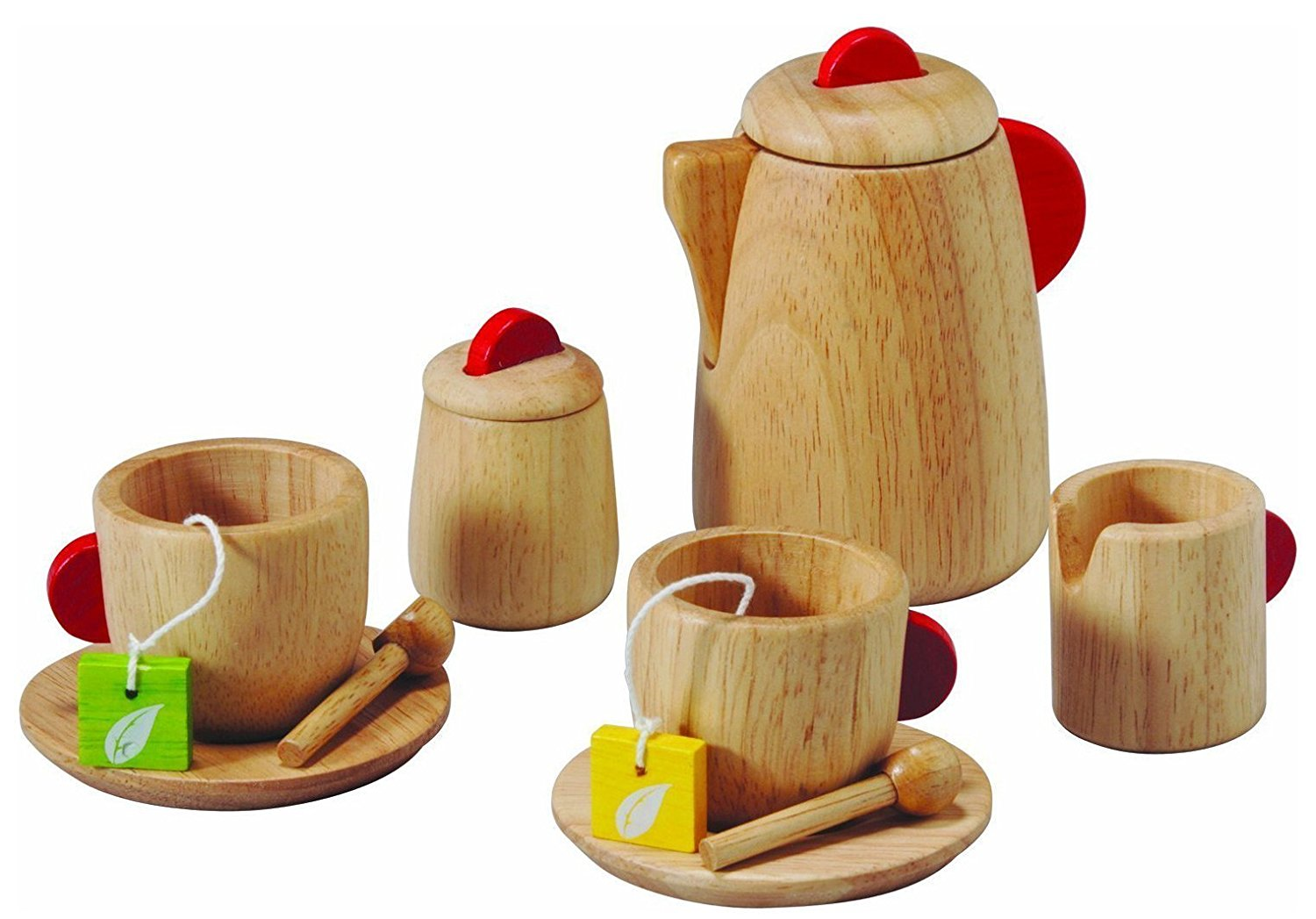 PlanToys Wooden Tea Set Toy