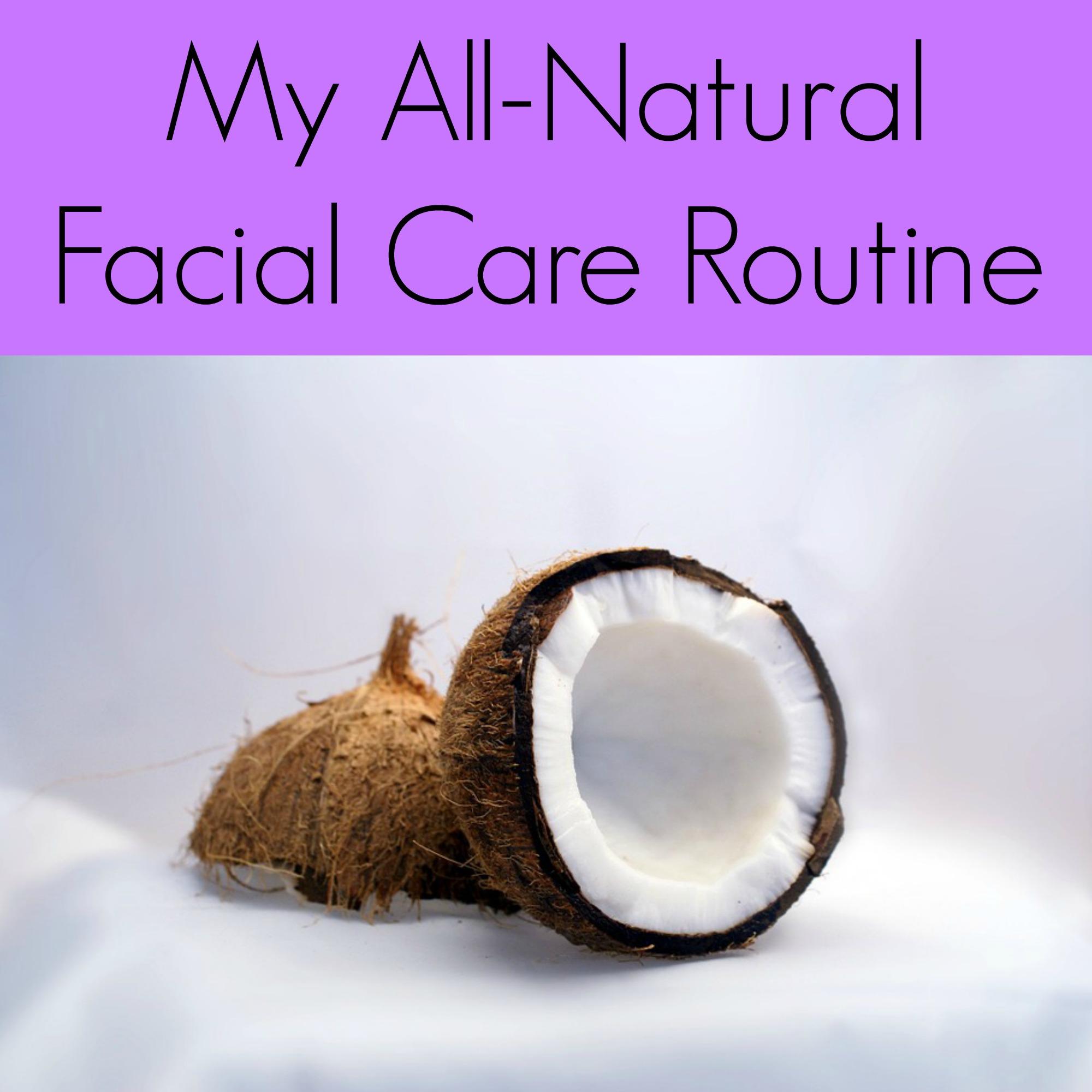 All Natural Facial Care