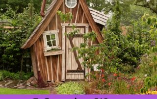 5 Creative Ways To Use a Garden Shed