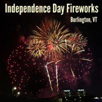 Independence Day Fireworks Burlington Vermont