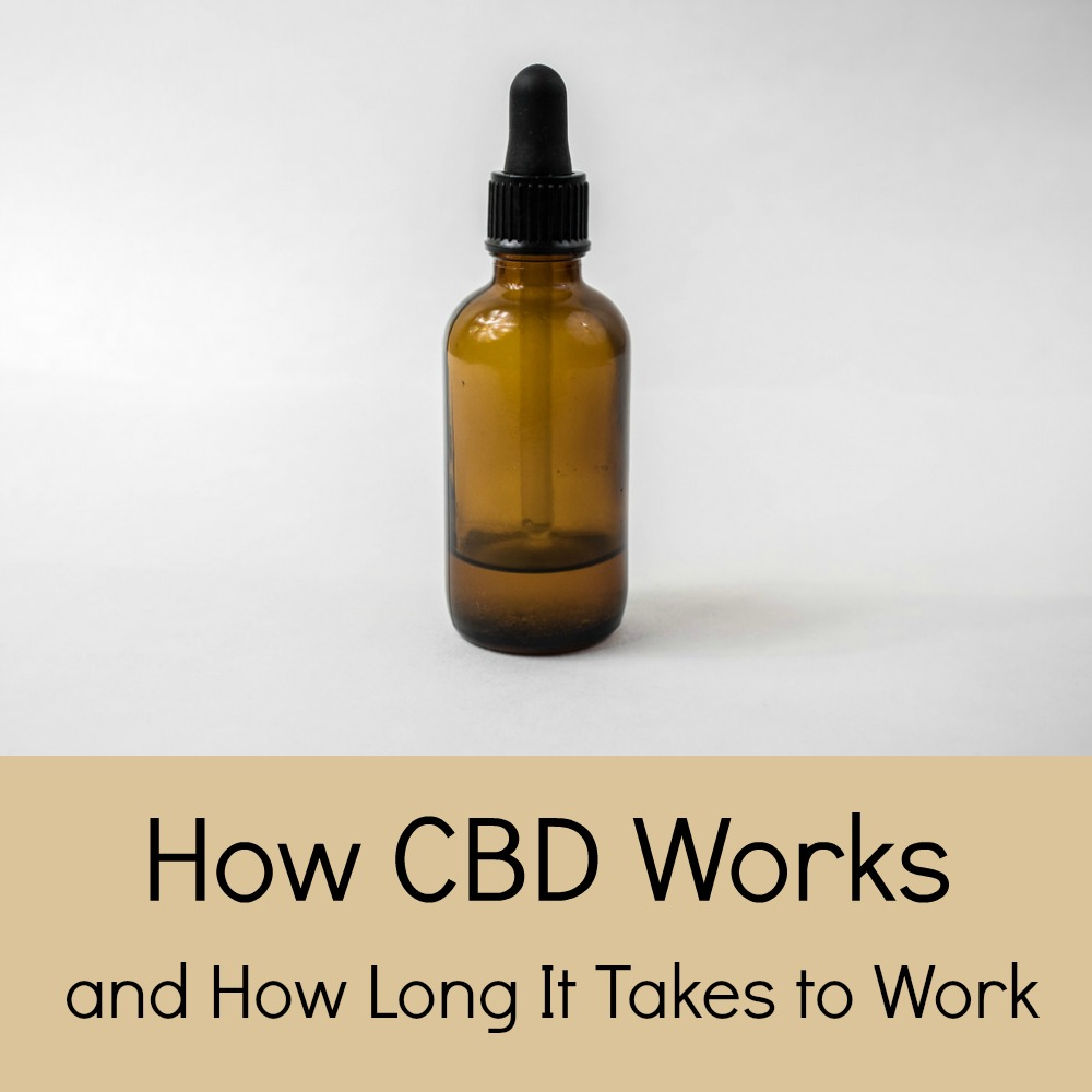 How CBD Works and How Long It Takes to Work on Your Body