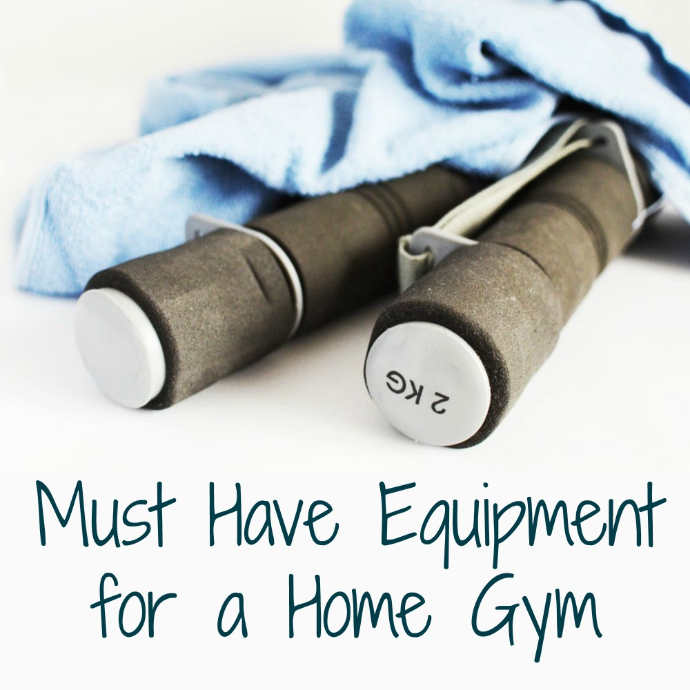 Some Must Have Equipment for a Home Gym