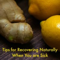 Tips for Recovering Naturally When You Are Sick