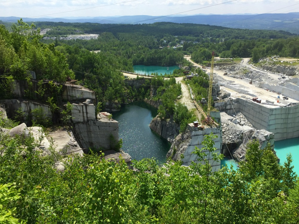 Rock of Ages Granite Quarry