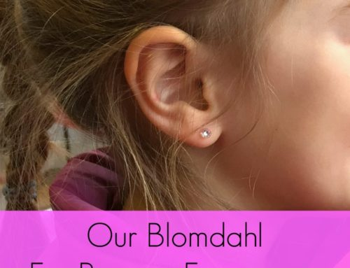 Our Blomdahl Ear Piercing Experience