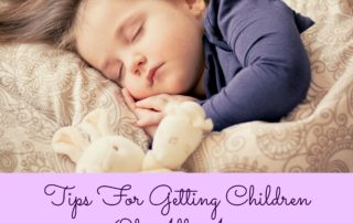 Tips For Getting Children Of All Ages To Get A Better Night's Sleep