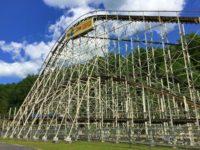 Great Escape Comet Rollercoaster