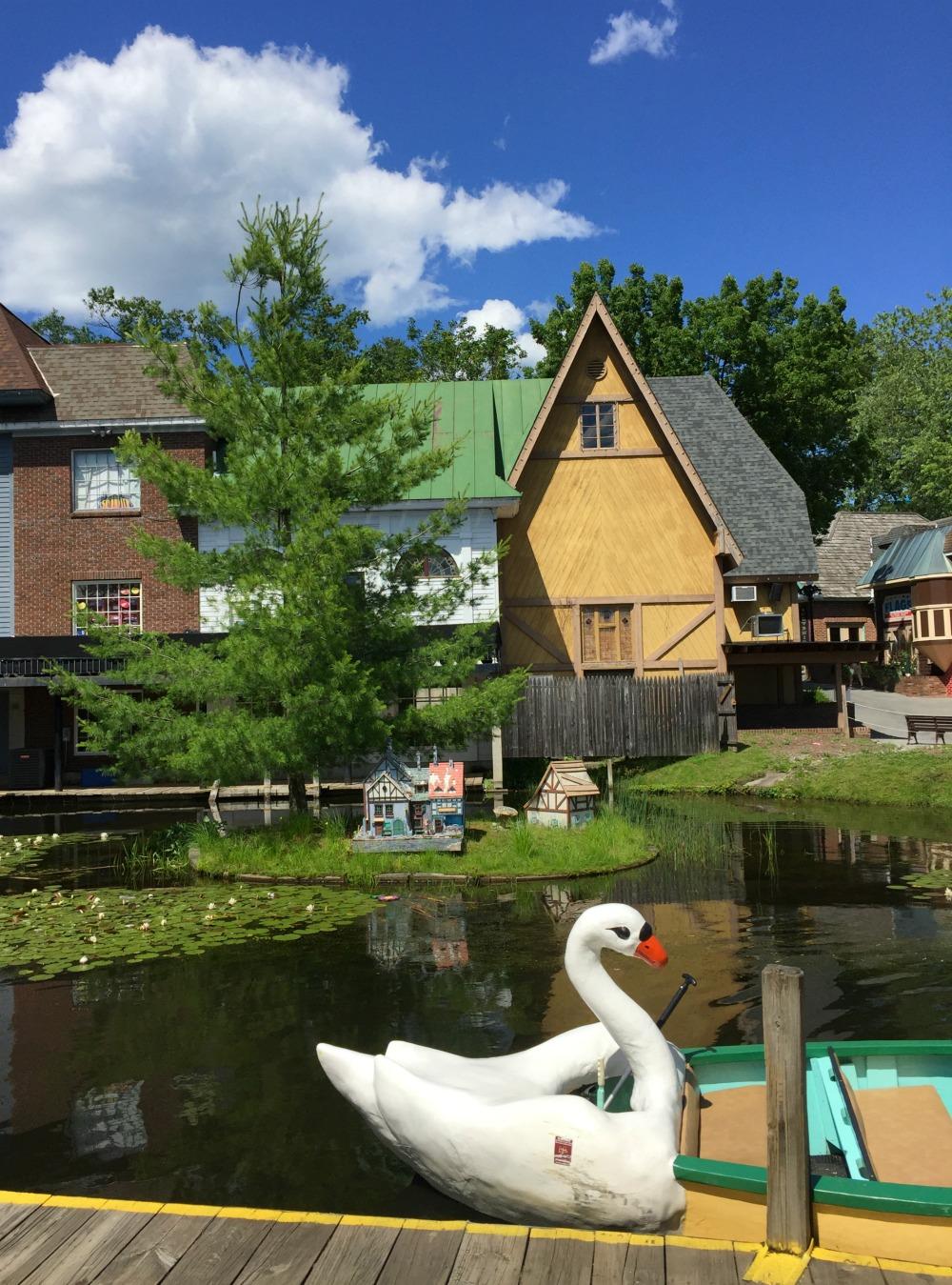 Great Escape Swan boats