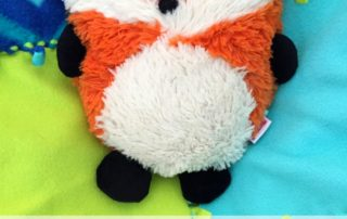 Hooty Friends Fox Lavender Stuffed Animal