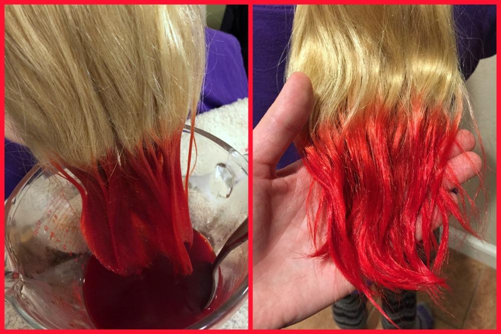 Kool-Aid Red Dye