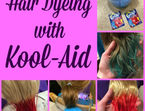 Hair Dyeing With Kool-Aid