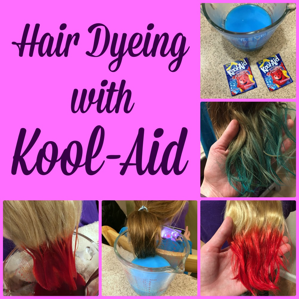 Hair Dyeing With Kool Aid A Nation Of Moms