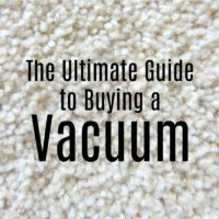 Guide to buying a vacuum