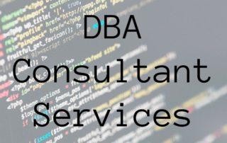 DBA consultant services