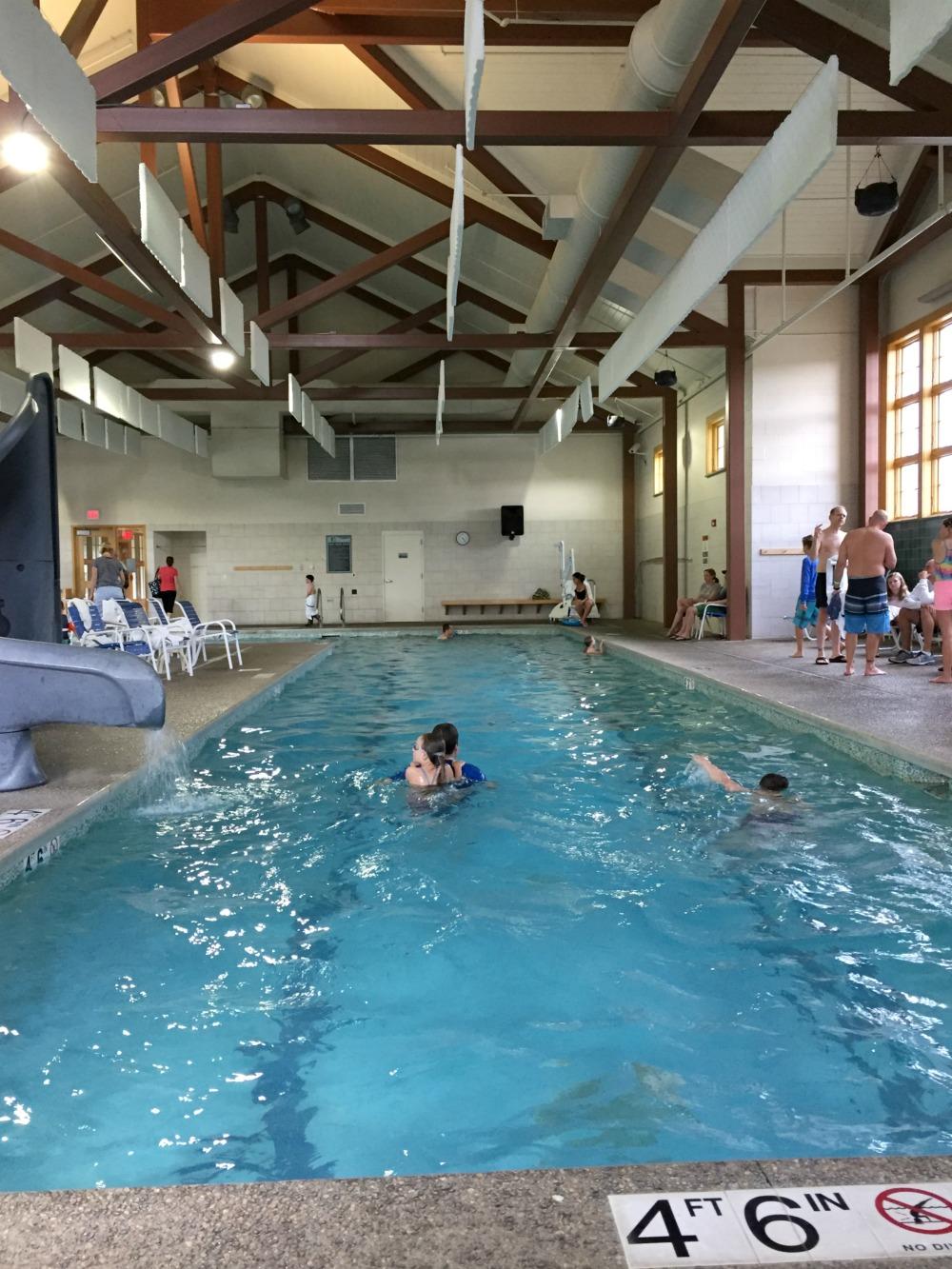 Jackson Gore Inn Ludlow Vermont pool