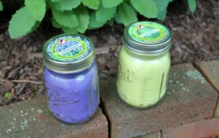Clover's Garden Natural Lavender Mosquito Repellent Candle