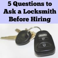 5 Questions to Ask a Locksmith Before Hiring