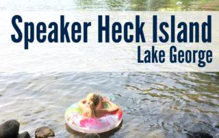 Speaker Heck Island Lake George